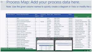 Automatically Create Process Diagrams In Visio Using Excel Data
