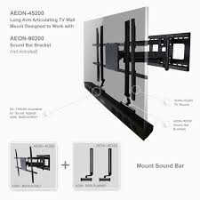 tv wall mount with extendable arm quality 48 lovely tv wall mount swivel ideas