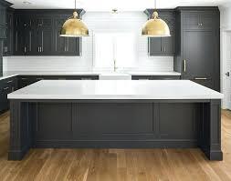 kitchen countertops quartz white cabinets. Dark Kitchen Cabinets With White Countertops Black Quartz Oak Hardwood Floor