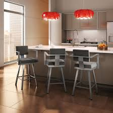Modern Kitchen Counter Stools Furniture Amisco Bar Stools Bring Comfort To Your Home Bar Or