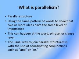 PARALLEL STRUCTURE WORKSHEET  3   Google Docs moreover Today's Agenda Punctuation Capitalization Quiz  Writing Clear furthermore  in addition Parallelism together with Parallelism   Business Writing in addition Parallelism for SAT Writing  Tips and Practice additionally Ex les of Parallel Structure in Technical Writing   Video in addition DAY FIVE  OF MICE AND MEN   ppt download additionally SAT Writing  Parallelism   Dual Phrases   SAT Unlocked II likewise How to Use Parallelism Correctly  10 Steps  with Pictures besides Parallelism    ppt download. on latest parallelism in writing