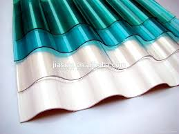 corrugated plastic roof roofing sheets bq