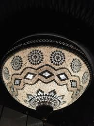 bowl moroccan ceiling lamp