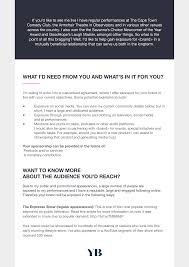 005 Microsoft Word Free Sponsorship Proposal Template