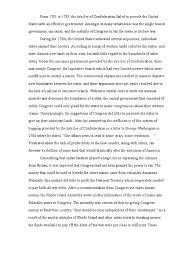 dbq articles of confederation north america politics