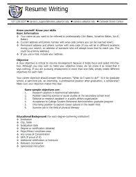 Resume Format For Career Change Teacher Career Change Resume Cover Letter Example For Career Change 83