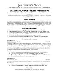 Sales Resumes Templates How To Write Sales Resume Recentresumes Download