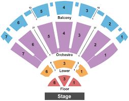 Bellco Theatre Seating Chart Denver