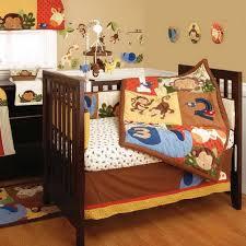 monkey baby crib bedding theme and design ideas 06