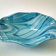 Turquoise Decorative Bowl Shop Decorative Glass Plates And Bowls On Wanelo 7