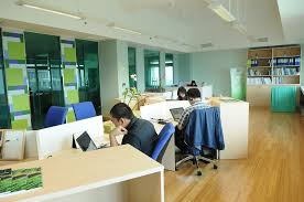 modern office color schemes. Office:Modern Cool Office Interior Inspiration With Green Chair Color Idea Modern Decor Schemes R