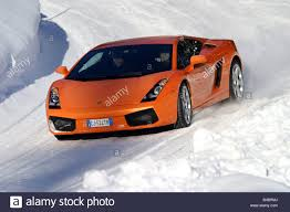 Car, Lamborghini Gallardo, roadster, orange , model year 2003 ...