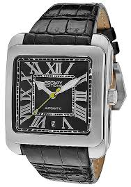 watches men s editions automatic black leather 700c rotary watches men s editions automatic black leather 700c