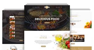 Restarunt Brochure Awesome Foodie Restaurant Cafe Html Template Codeboxr