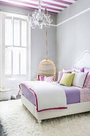 blue hanging chairs for bedrooms. Rattan Hanging Chair With Crystal Chandelier And Striped Blue Purple Ceiling For Impressive Bedroom Decorating Ideas Chairs Bedrooms