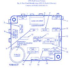 Ford Crown Victoria Fuse Box Legend 2095 Crown Victoria Police Fuse Box Diagram