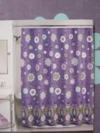 purple and blue shower curtains. Interesting Curtains Peri SASHA PURPLE Bohemian Lavender Green Blue FLORAL COTTON SHOWER CURTAIN Intended Purple And Shower Curtains R