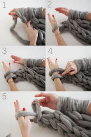 Knit an Infinity Scarf in Under 30 Minutes | <b>Arm knitting</b>, Knitted ...
