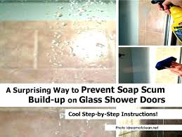 how to clean glass shower doors door bathroom showers water repellent for keeping cleaning hard stain rain xr reviews s