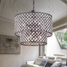big drum chandelier