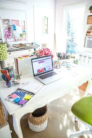 colorful office accessories. Colorful Office Desk A Fresh And Fun Home Dream I Like This Bright Space Accessories