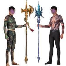 <b>Aquaman Cosplay Costume</b> Zentai <b>Arthur Curry</b> Orin Superhero ...