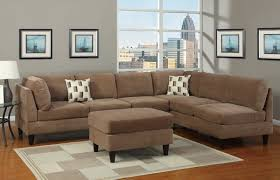 Paint Colors For Living Room With Brown Furniture Brown L Shaped Sofa Hotornotlive
