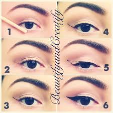 eyeliner stencils perfect cat eye makeup smokey eyes beth