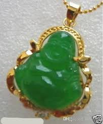 2019 new gold plated green jade buddha pendant necklace free chain fr6t from dong1227 12 96 dhgate com