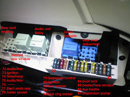 similiar bmw x5 fuse box keywords area fuse box diagram x5 e53 2001 2003 rear relays fuses diagram jpg
