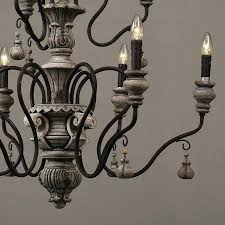 french wood chandelier expression country french vintage wrought french carved wood chandelier