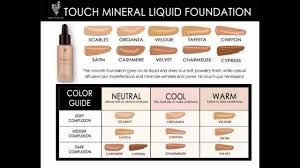 Foundation Color Match Chart How To Color Match Youniques Liquid Foundation Based On Undertones