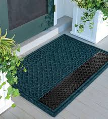outdoor front door matsrubber entry floor mats  The Rubber Door Mat and Some