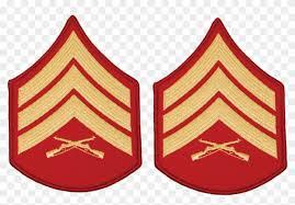 Sgt Dress Blue Marine Corps Master Sergeant Rank Hd Png