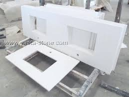 bathroom vanity tops double sink double bathroom sink tops for decoration china square sinks white quartz