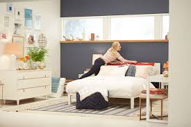 accent walls for bedrooms. Target Emily Henderson_bedroom_whiteblue Orange Casual Calm Bed Styling1 Accent Walls For Bedrooms