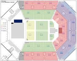 Seating Charts The Bb T Arena At Northern Kentucky University
