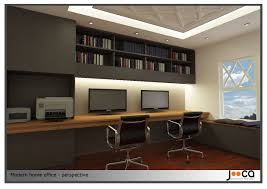 modern home office design. Contemporary Office : Home Design Project Designed By Jooca Studio Modern ~ Glubdub
