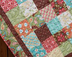 21 best Sewing images on Pinterest | Scrappy quilts, Jellyroll ... & Whimsical Floral Baby Girl Quilt. $140.00, via Etsy. - like these colors and Adamdwight.com