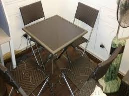 dining table and chairs for sale in karachi. dining table set folding4 chair and 1 table. karachi chairs for sale in d