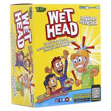 Водная Рулетка (<b>Wet</b> Head) настольная <b>игра</b> Zing ZG657 - купить ...