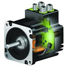 closed loop integrated stepper motors in size nema17 23 34