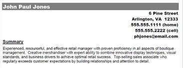 Objective Summary For Resume Resume Profile Summary Examples Examples Of Resumes 86