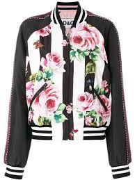 <b>Dolce & Gabbana куртка</b>-бомбер с принтом роз в 2019 г.   Куртки ...