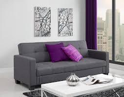 No Furniture Living Room Dorel Home Furnishings Leighton Gray Storage Futon Home