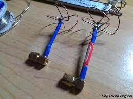 make a diy cloverleaf antenna