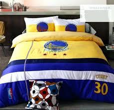 nba bedding twin curry golden state warriors team bedding set queen size cotton nba sheet set nba bedding
