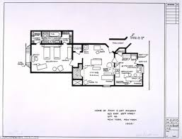mail floorplan. Artists Sketch Floorplan Of Friends Apartments And Other Famous TV Shows   Mail Online
