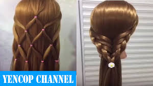 2 Peinados Faciles Y Rapidos Con Cabello Suelto Con Trenzas P4