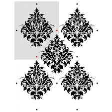 damask wall stencils maderno for wall decor diy reusable stencil j boutique stencils royalwallskins